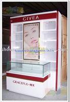 079 Cosmetic display stand shoe store display racks