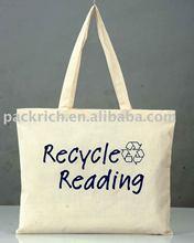 Reusable tote printing cotton bag