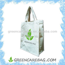 Durable and Washable Natural White Eco Canvas Tote Bag