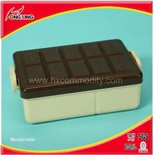 Food Grade Chocolate Design Plastic Lunch box