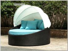 rattan garden hammock round bed