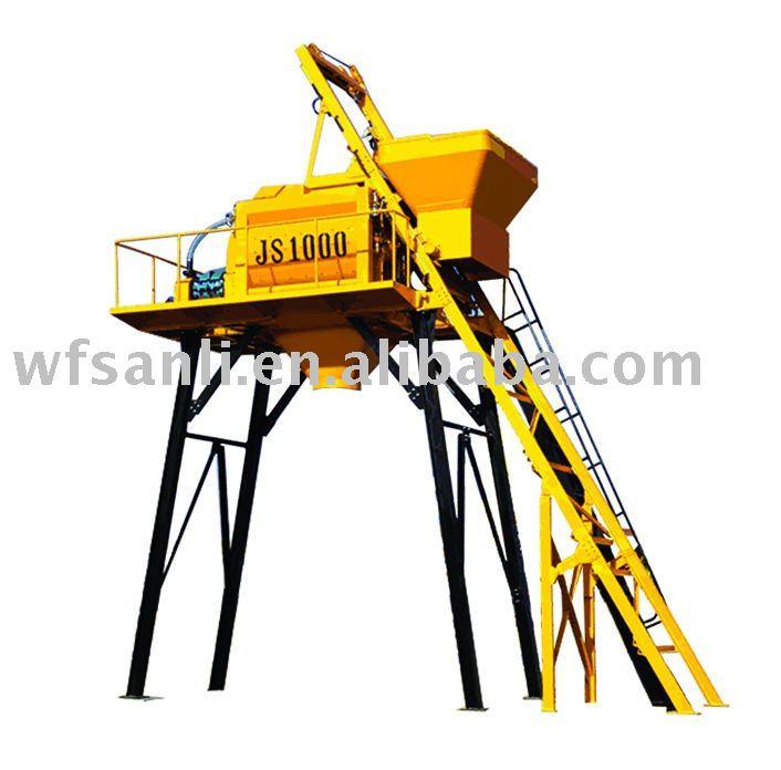 Moible Concrete mixer JS750