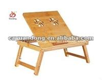 Bamboo Laptop Computer Desk