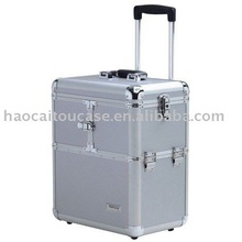 factory product wholesale custom aluminum make up trolley case