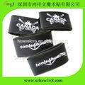 50*440mm personalizado de velcro de esquí banda con el logo