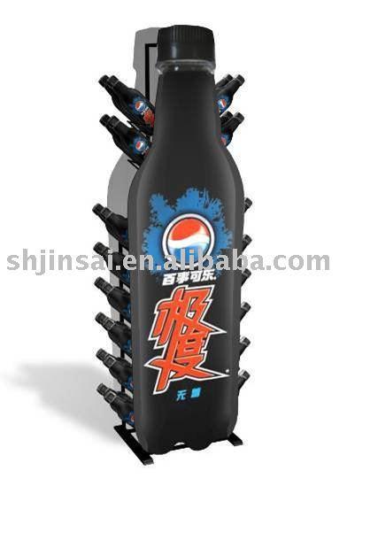 Pepsi Metal Display Rack For