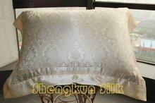 jacquard silk pillowcase
