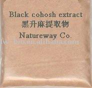 Black Cohosh Extract powder 2.5%, 8% Triterpenoid Saponins