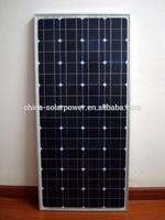 Monocrystalline Solar Cell Solar Power System SUNNYWORLD 150W Solar Panel
