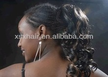 2012 Hot sell fashion synthetic hair ponytail