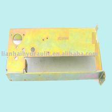 galvanized box beam steel production