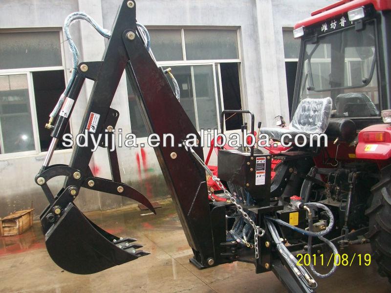 Mounted tractor LW series PTO backhoe