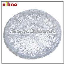 Round Glass Plate
