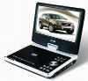 Portable led vedio DVD Player With tv and game