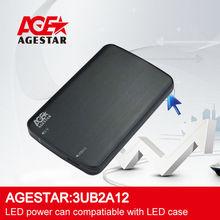 "AGE STAR USB3.0 to 2.5"" SATA /SSD External HDD Enclosure:3UB2A12"