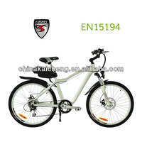2013 new mountain electric bicycle 250W aluminum frame li-polymere battery from LOHAS KCMTB011 with CE and EN15194 Approval