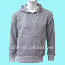 Custom mens plain hoodies