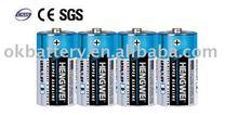 SUPER ALKALINE BATTERY LR20 D 1.5V 4/S