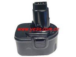 Power tool battery for Dewalt 9.6V DW9072
