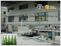 Automatic Glass Beer/Wine/Vinegar bottle Label removing hot alkaline soaking washing brushing machine/recycling cleaning line