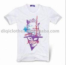 men's white t-shirt for 2012 summer