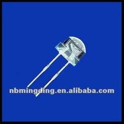8mm white strawhat led diode