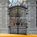 De hierro forjado puerta delantera diseños, tubo de metal de la puerta de los diseños para el hogar