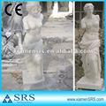 الصين الرخام الأبيض فينوس تمثال الحجر النساء