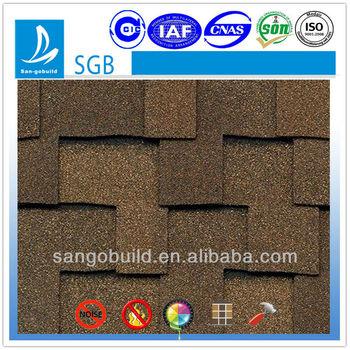ISO9001:2008 certified best asphalt shingles