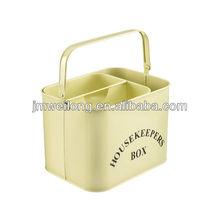 Metal housekeeper box