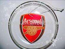 Arsenal paper car air freshener(LIS-179)