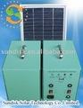 sistema de generador solar para uso en el hogar