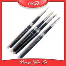 Pro 4pcs black nail art pen