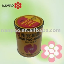 Nanpao contact adhesive for leather lamination