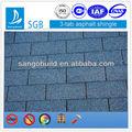 Singer, 20-40 année, bleu, 3-tab toiture de bardeaux d'asphalte