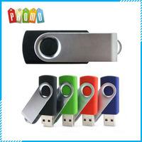 Promotional customized Twist USB memory stick