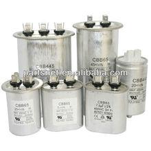 CBB65 Aluminum Run Capacitor / CBB65 Capacitor/ Air conditioner capacitor