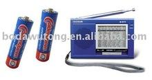 AAA seng karbon bateri