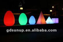 PE material Rotational Moulding Plastic Modern LED Egg