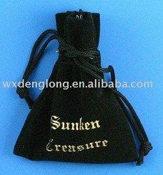 promitional beautiful mobile gift velvet bag