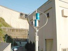 Vertical-axis wind power generator