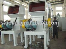 crush wash dry waste plastic PP PE PET materials Plastic machine