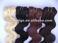 16 inch synthetic hair weave body wave