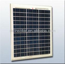 High Quality Polycrystalline Silicon suntech solar panel 40W