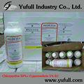 Insecticida clorpirifos 50% + Cypermethrin 5% EC agroquímicos