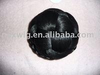 Synthetic Bride Braided Hair Bun