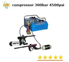 Paintball air compressor, 300bar, 4500psi high pressure