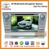 Car DVD Player for Toyota CAMRY--AV Multimedia Car gps navigation system 7 inch Special Use for CAMRY