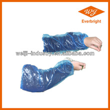 Disposable PE CPE long sleeve cover plastic arm sleeve