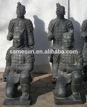 Handmade pottery crafts of terracotta warriors